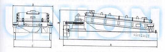 HSSJ精细筛分机外形图